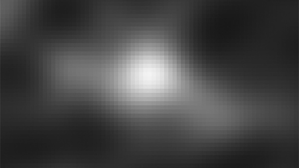 Fig.1: Gray-scale image of high redshift object UDFj-39546284 from HUDF WFC3/IR (Credit: NASA, ESA, G. Illingworth (University of California, Santa Cruz), R. Bouwens (University of California, Santa Cruz, and Leiden University), and the HUDF09 Team.)